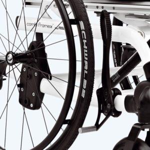 Brzda na kole + bubnová