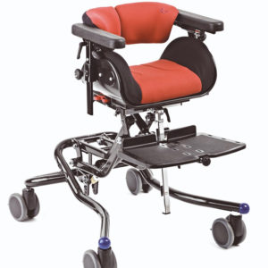 Nandu Doporučujeme možnost montáže sedačky Nandu vel. 1-4 na podvozek High-low